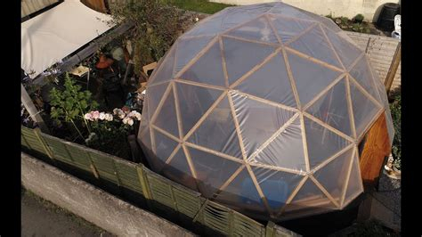 My Geodesic Dome Building Process  Youtube