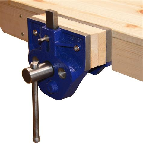 installed irwin record  woodworking vice tpd