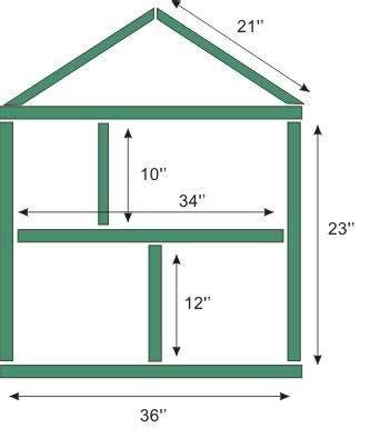 simple dollhouse plans  details  easy  large