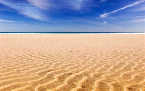 Ocean landscapes beach sand skyscapes wallpaper ...