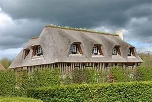 maison normande avec toit de chaume photo de bon sejour With maison toit de chaume
