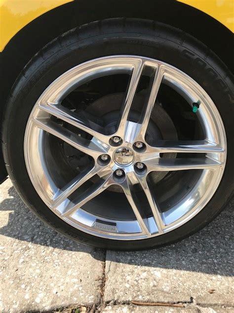 fs  roush polished split  spoke wheels  tires