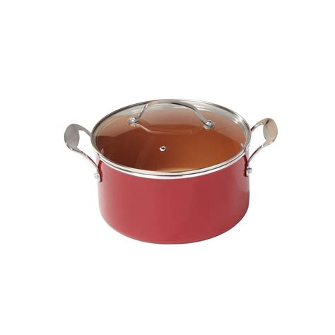 red copper  pc cookware set  sportys tool shop