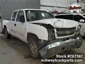 Used Parts 2004 Chevrolet Silverado 1500 5 3l 4x4