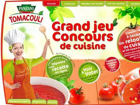 jeu concours cuisine concours de recettes tomacouli ma p 39 tite cuisine
