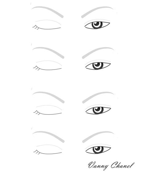 eyeshadow template 234 best images about charts on dibujo smokey eye and make up
