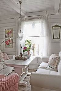25+ Charming Shabby Chic Living Room Decoration Ideas ...