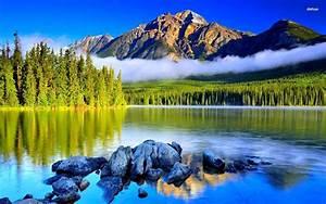 Beautiful, Mountain, Lake, Hd, Free, Wallappers, For, Desktop