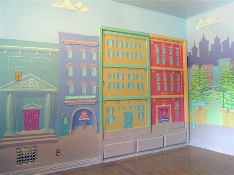 playroom mural ideas mural for boys playroom woodland hills ca painting by tim cornelius