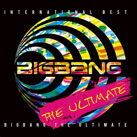 Art Work Japan Bigbang  The Ultimateinternational Best