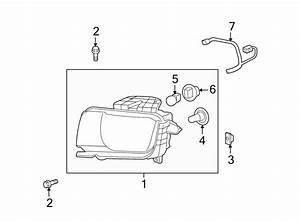 Chevrolet Camaro Headlight Wiring Harness  W  O Hid  2010