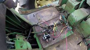 John Deere 3020 24v To 12v Conversion
