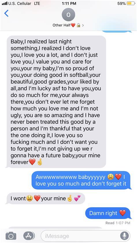 pin  ahley   couples cute boyfriend texts