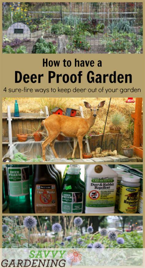 how to keep deer out of vegetable garden deer proof gardens 4 sure ways to keep deer out of