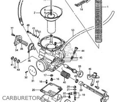 Suzuki Ls650 Parts by Suzuki Ls650 Savage 1987 H Usa E03 Parts List