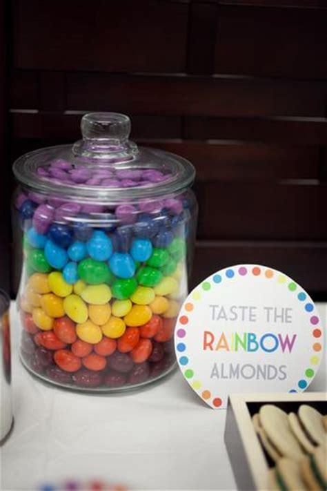 rainbow art baby shower baby shower ideas themes games