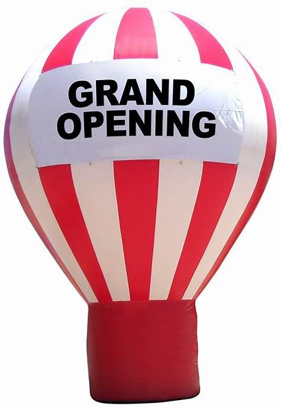 Balloons Advertising Opening Grand Attract Customers Business