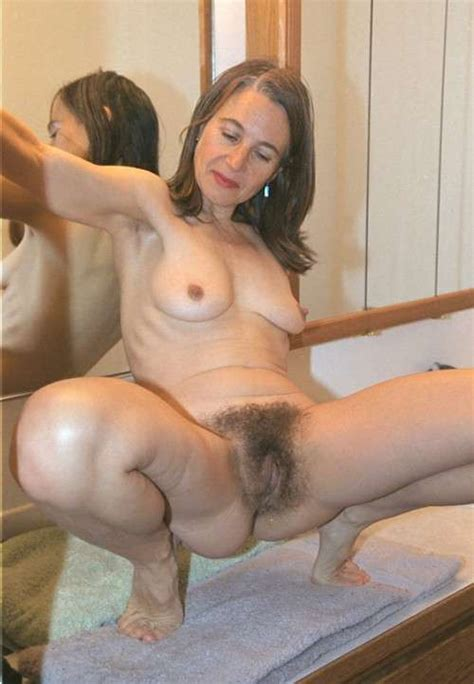 Spread Hairy Pussy Luscious
