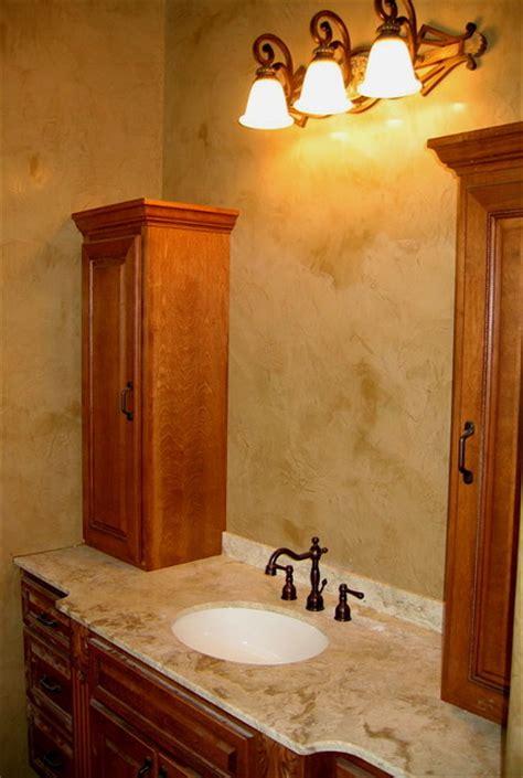 Modern Bathroom Finishes by Master Bathroom Italian Venetian Plaster Faux