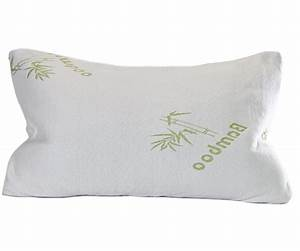shredded memory foam bamboo pillow with inner polyester cover With bamboo brand pillow