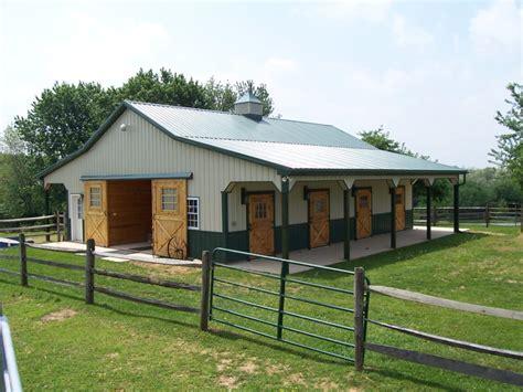 building  steel horse barns metal prefab buildings