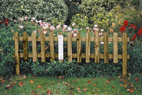 uk garden fencing garden border picket fence