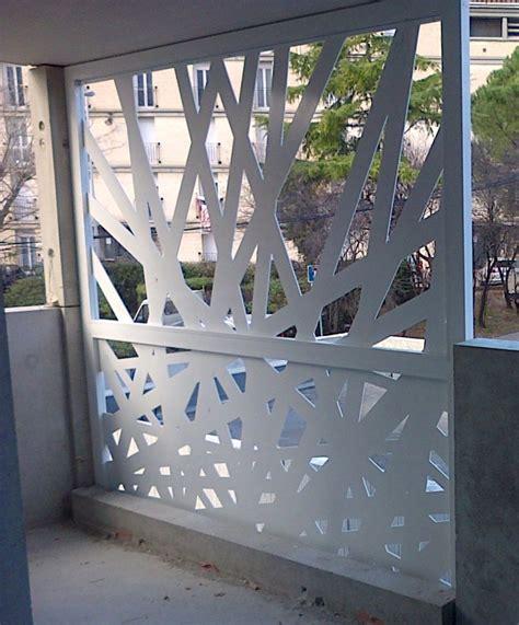 Brise vue metal toile occultant jardin | Chromeleon