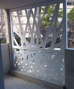 Panneau Brise Vue Aluminium : brise vue metal toile occultant jardin chromeleon ~ Melissatoandfro.com Idées de Décoration