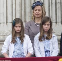 Lady Helen Taylor with Eloise Taylor, seven, (left) and Estella Taylor ... Hodgkin's Disease