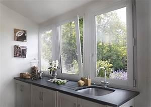 choisir ses fenetres en fonction du style de sa maison With porte d entrée pvc avec modele de salle de bain noir et blanc