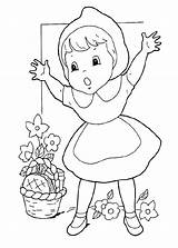 Coloring Pages Hood Riding Site sketch template