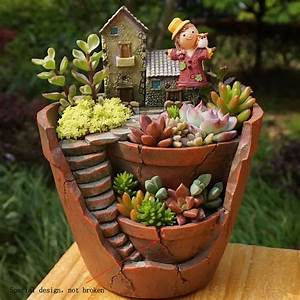 Sky, Garden, Succulent, Herb, Planter, Flower, Basket, Pot, Trough, Box, Plant, Home, Decor, Christmas, Gift