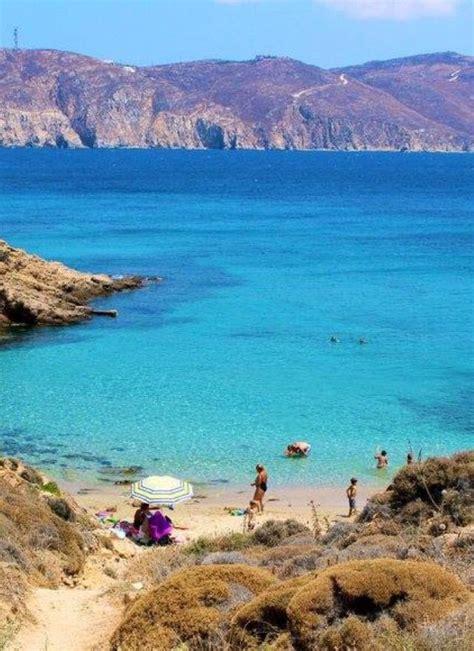 Agios Sostis Beach Mykonos Řecké Ostrovy Mykonos