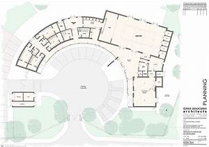 Community Center Floor Plan Design
