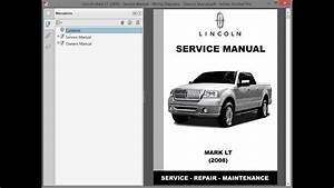 Lincoln Mark Lt  2008    Repair Manual