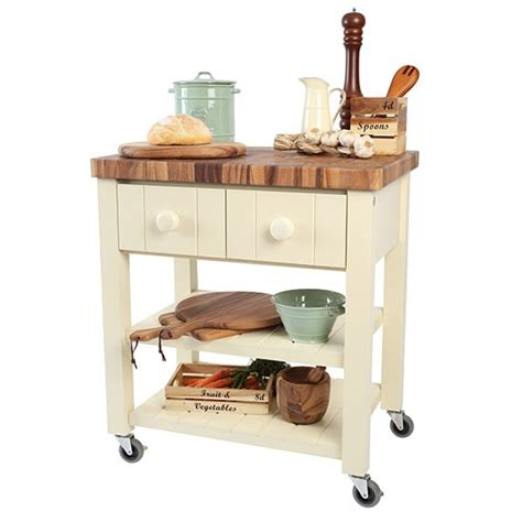New England Trolley From T&g Woodware  Butcher's Blocks
