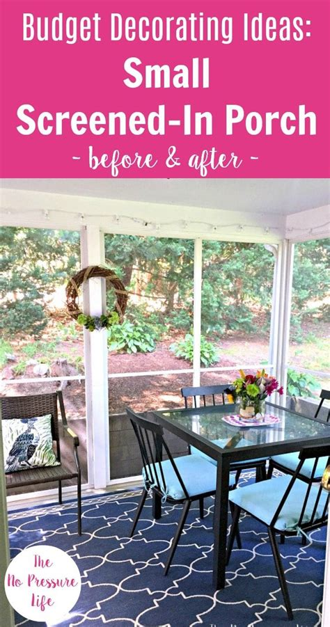 decorating  screened  porch  budget makeover