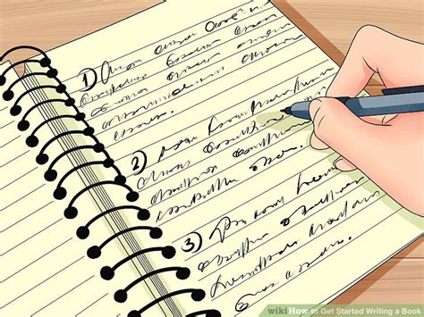 How To Get Started Writing A Book 13 Steps (with Pictures