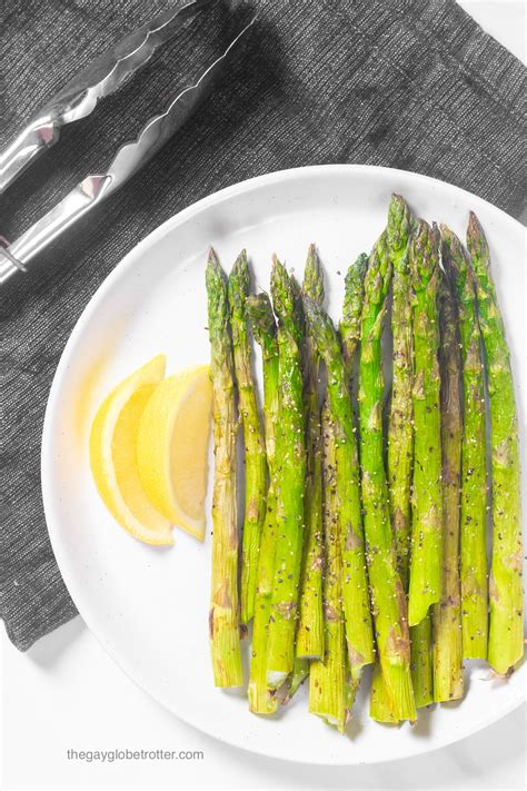 fryer asparagus air globetrotter gay minutes