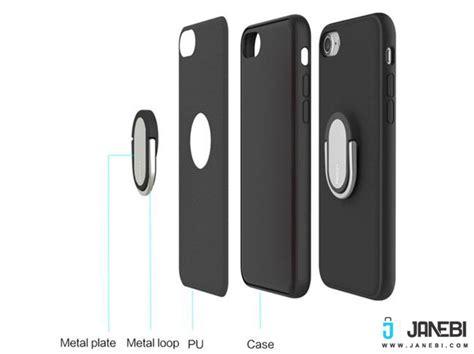 M1 Iphone 8 قاب محافظ راک آیفون Rock Ring Holder Case M1 Iphone 7 Plus
