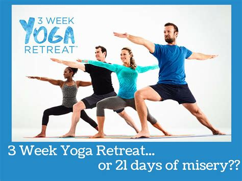 week yoga retreat   days  misery plan