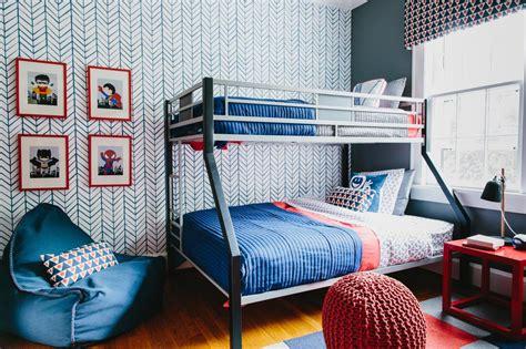 Colorful Pattern Filled Shared Boys Bedroom 2019 Hgtv