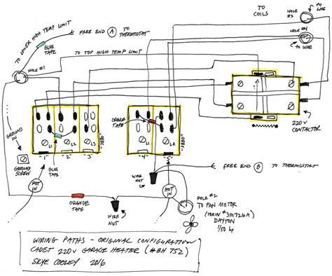 unit heater wiring diagram k grayengineeringeducationcom