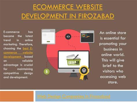 ecommerce website design company ppt e commerce website development company in firozabad