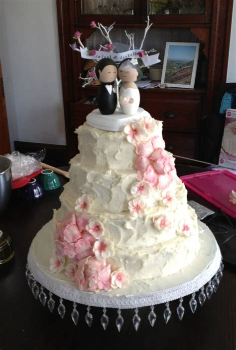 dsmeebee my diy gum paste wedding cake flowers