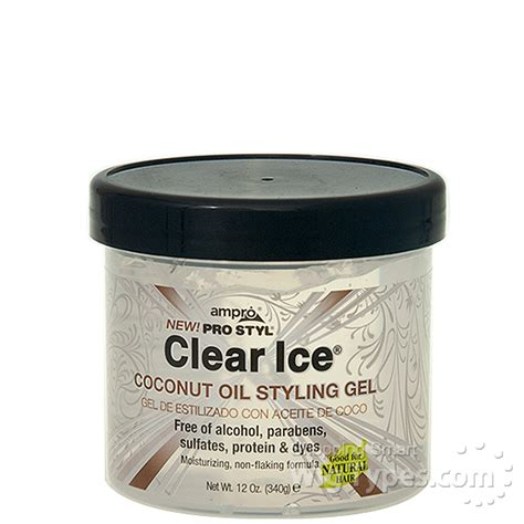 coconut styling hair ro pro styl clear coconut styling gel 12oz