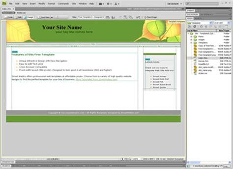 templates for dreamweaver cc posts outletsoftwares