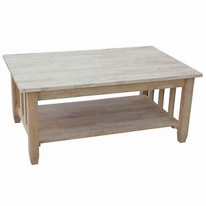 International concepts unfinished lift top coffee table for Unfinished coffee table