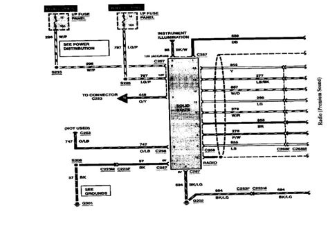 lincoln town car electrical diagram wiring forums