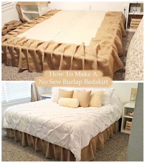 burlap covered furniture 50 creative diy projects made with burlap